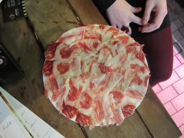 L2F Jul 18 pic Spain ham plateful Glynn