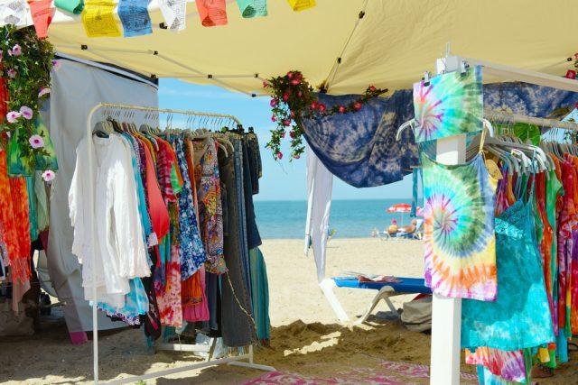 L2F Sep 18 pic Spain Balearic Islands Ibiza hippy market beach shutterstock_668629069