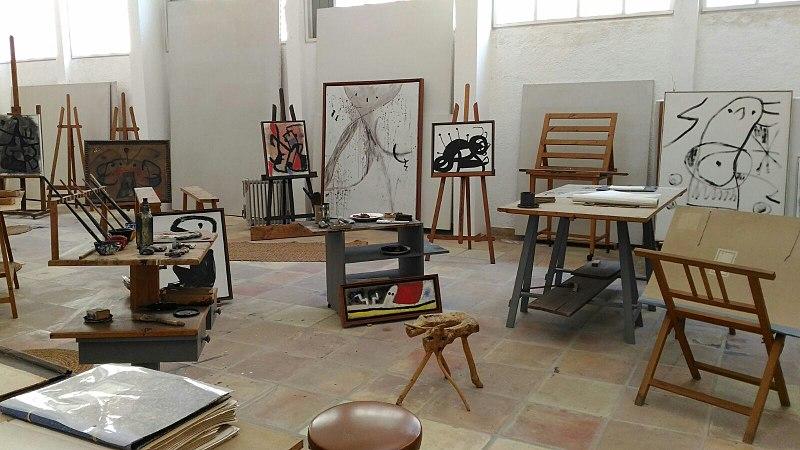 L2F Sep 18 pic Spain Balearic Islands Palma de Mallorca Miró atelier