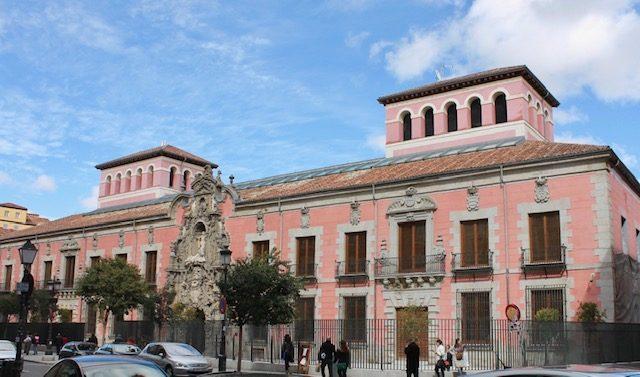 History Museum of Madrid (Spain). Building from 1726.