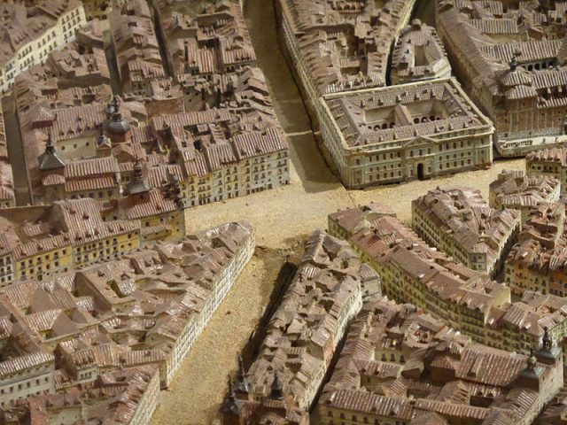 L2F Oct 18 pic Spain Madrid History Museum scale model Wikipedia