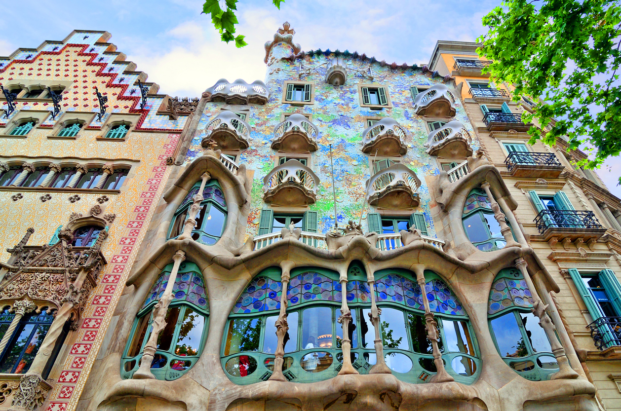 Casa Batllo, built between 1904 and 1906 by Antoni Gaudi and Josep Maria Jujol in Barcelona, is the most emblematic work of the brilliant Catalan architect. Casa Batllo is listed for preservation since 1962 and was declared an UNESCO World Heritage Site in 2005