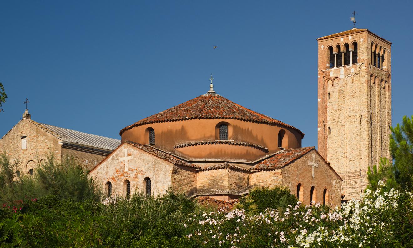 Church Santa María Asunta de Torcello, in Torcello island, Venice, Italy