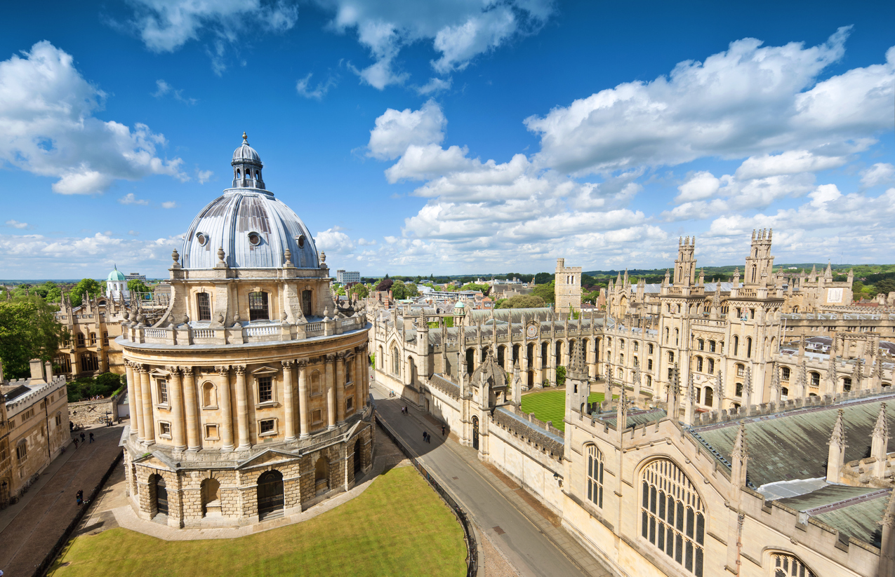 """""""The Radcliffe Camera and All Souls College in Oxford, UK"""""""