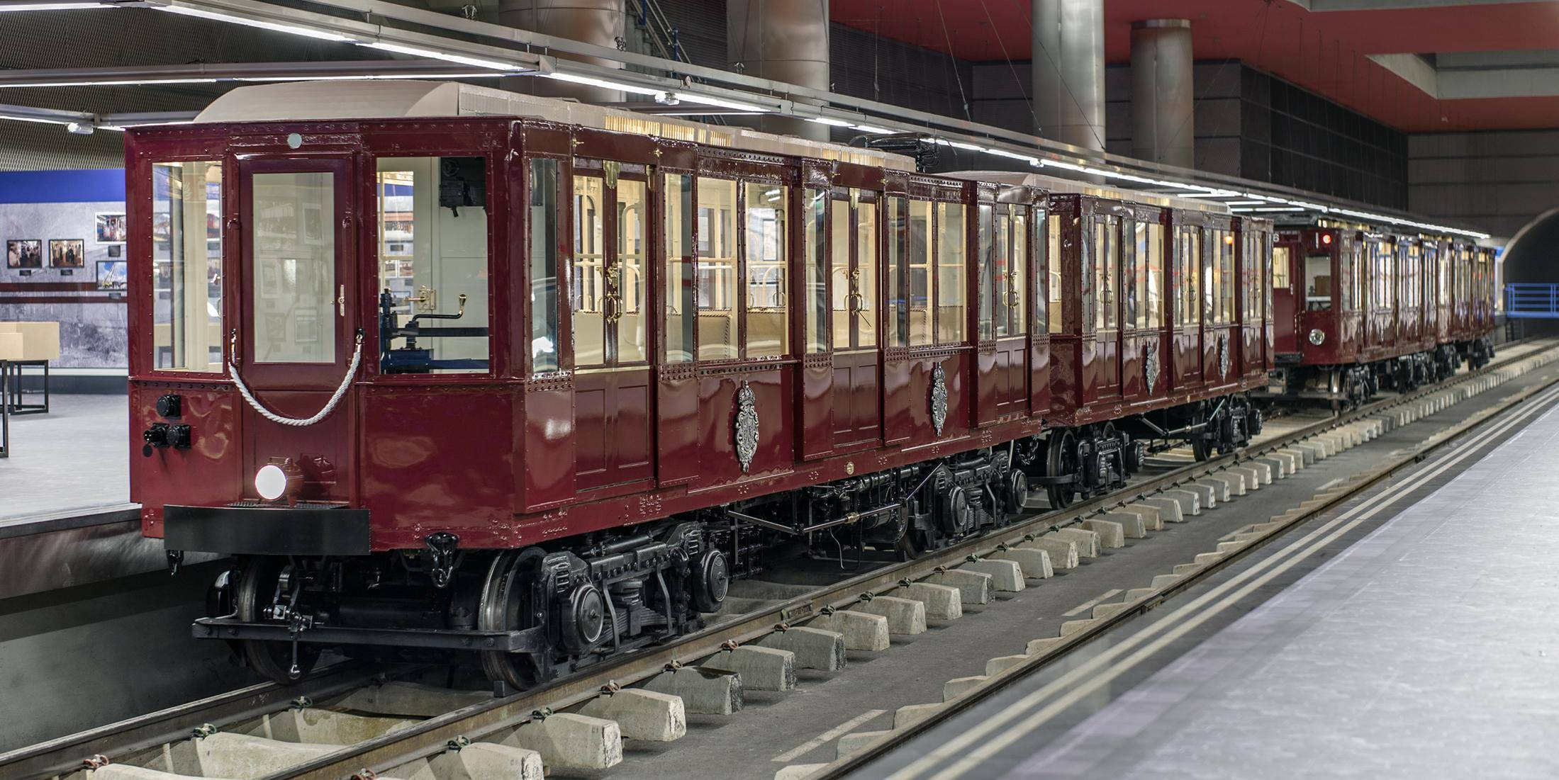 L2F Jul 19 pic Spain Madrid metro Chamartin museum