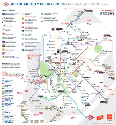L2F Jul 19 pic Spain Madrid metro map