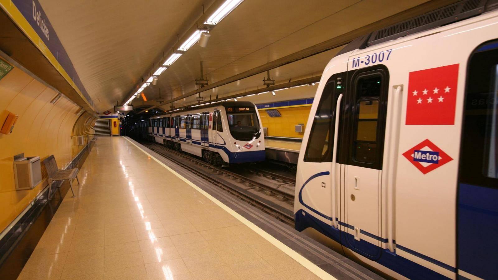 L2F Jul 19 pic Spain Madrid metro trains rolling stock