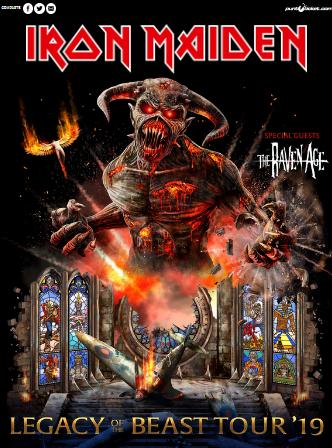 L2F Sep 19 pic Chile Santiiago events Iron Maidon Legacy of the Beast Tour