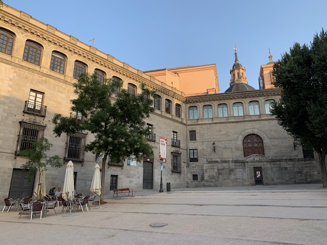 L2F Sep 19 pic Spain Madrid medieval Plaza de la Paja