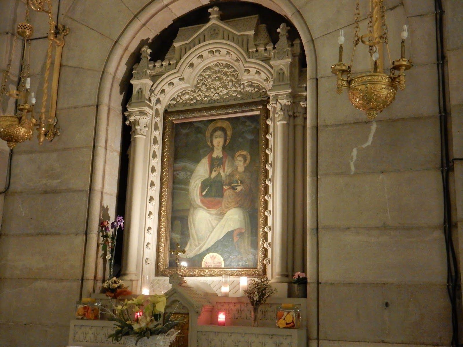 L2F Sep 19 pic Spain Madrid medieval Virgen del Lirio