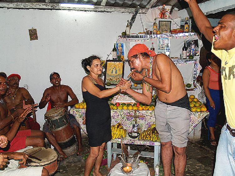 L2F Oct 19 Cuba Santería ceremony