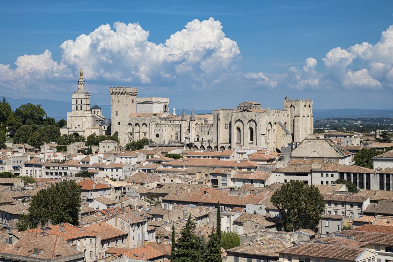 Landscape of Avignon