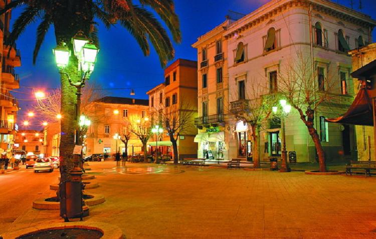 L2F Oct 19 pic Italy Sardinia Olbia Piazza Regina Margherita Wikipedia