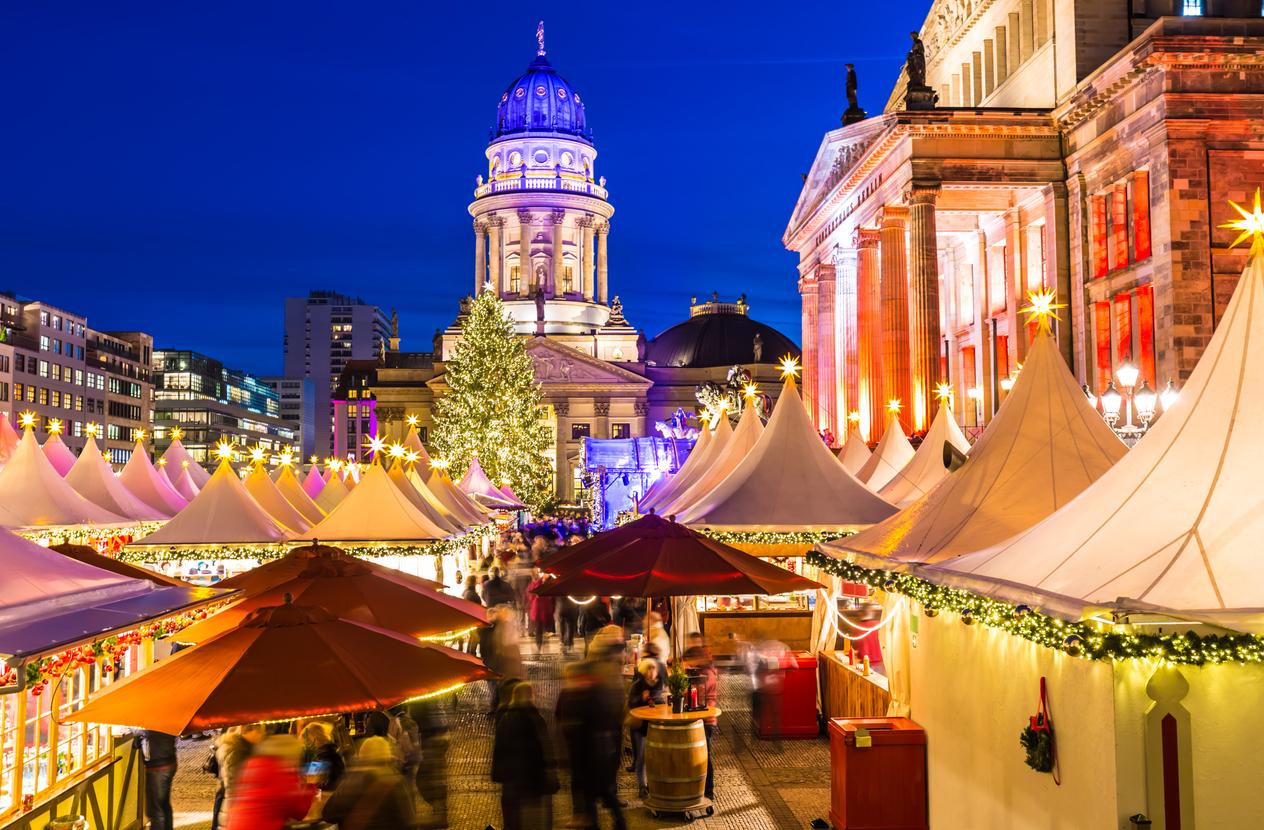Christmas Market in Berlin, Gendarmenmarkt