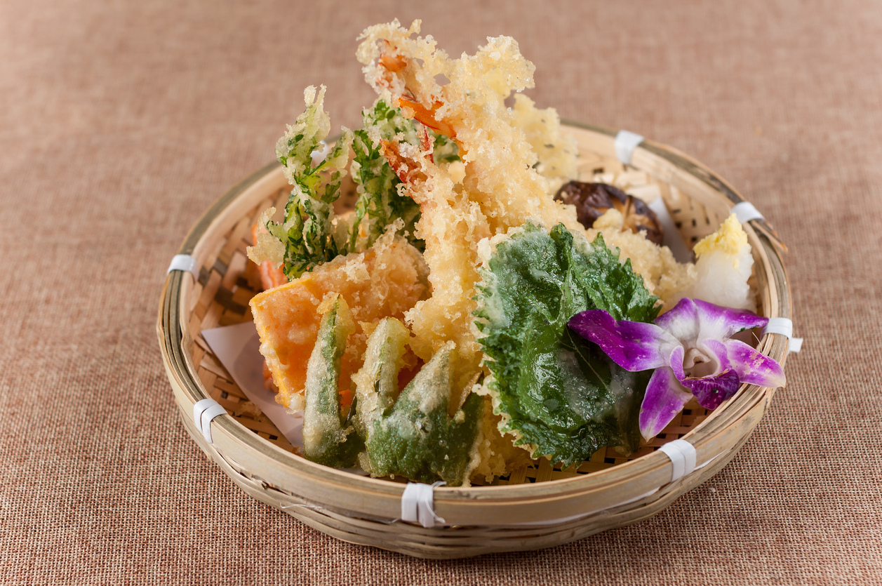 Tempura; Japanese food