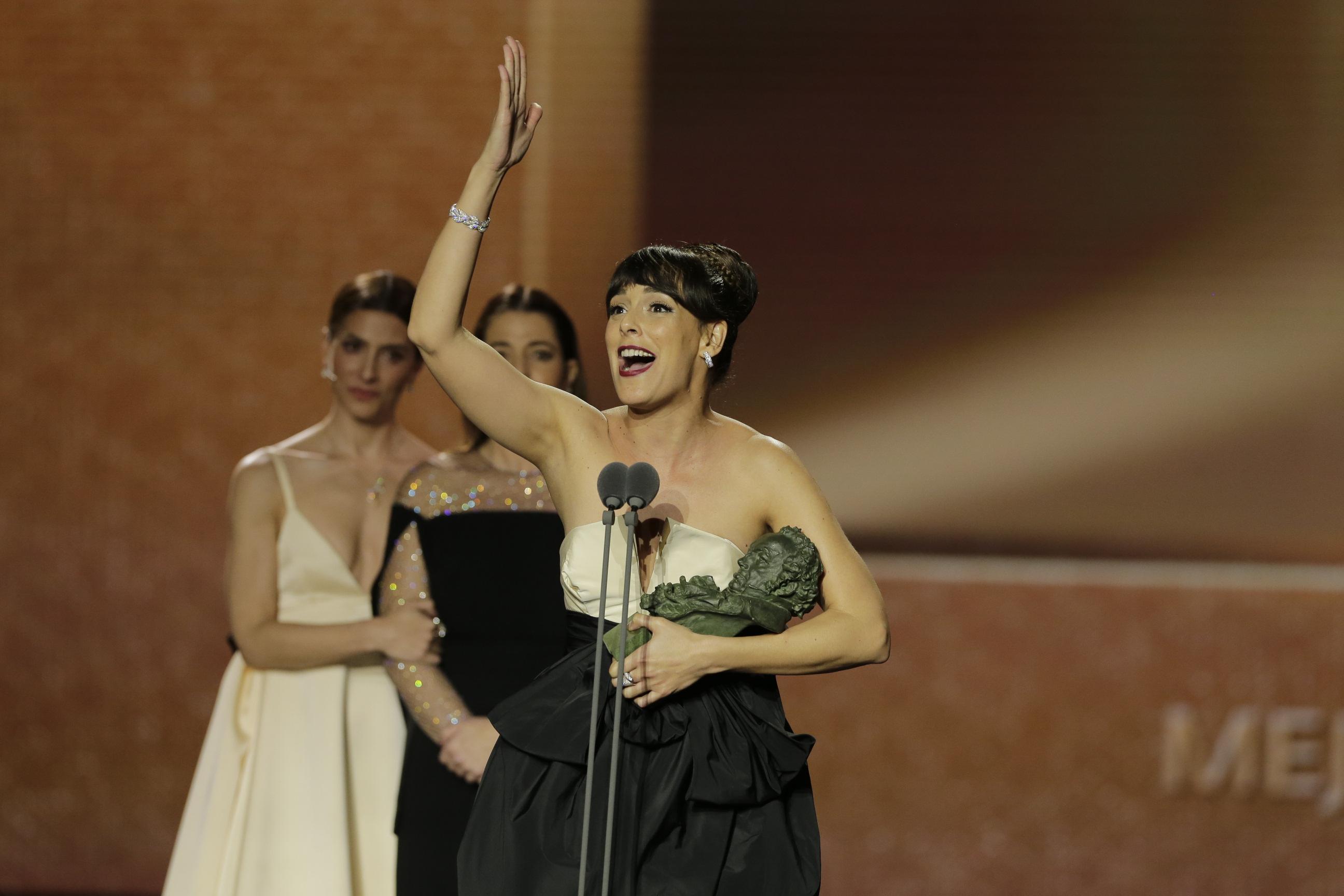 L2F Feb 20 pic Spain Goya Awards Belén Cuesta