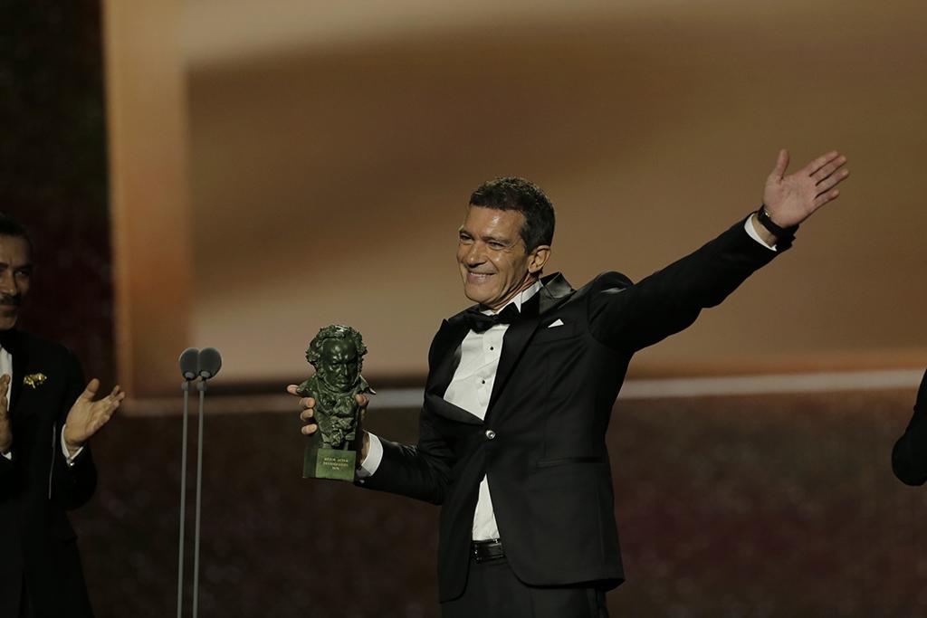 L2F Feb 20 pic Spain Goya Awards Best Actor Antonio Banderas