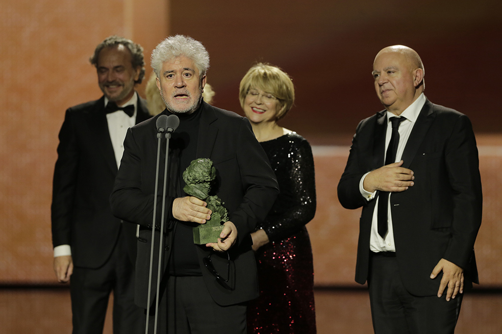 L2F Feb 20 pic Spain Goya Awards Pedro Almodóvar