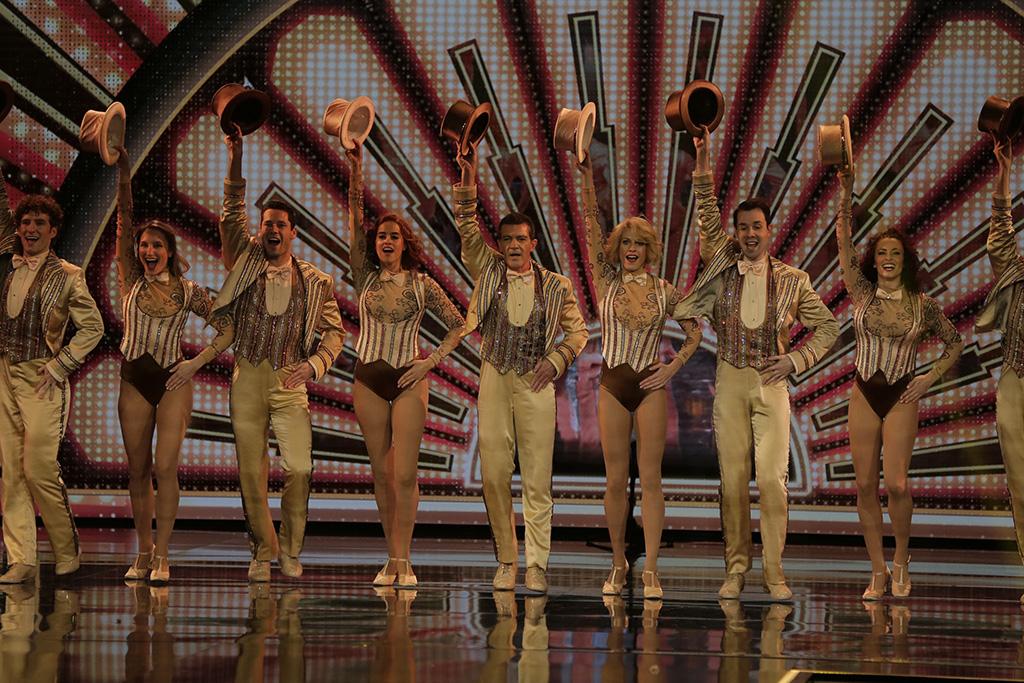 L2F Feb 20 pic Spain Goya Awards top shot chorus line