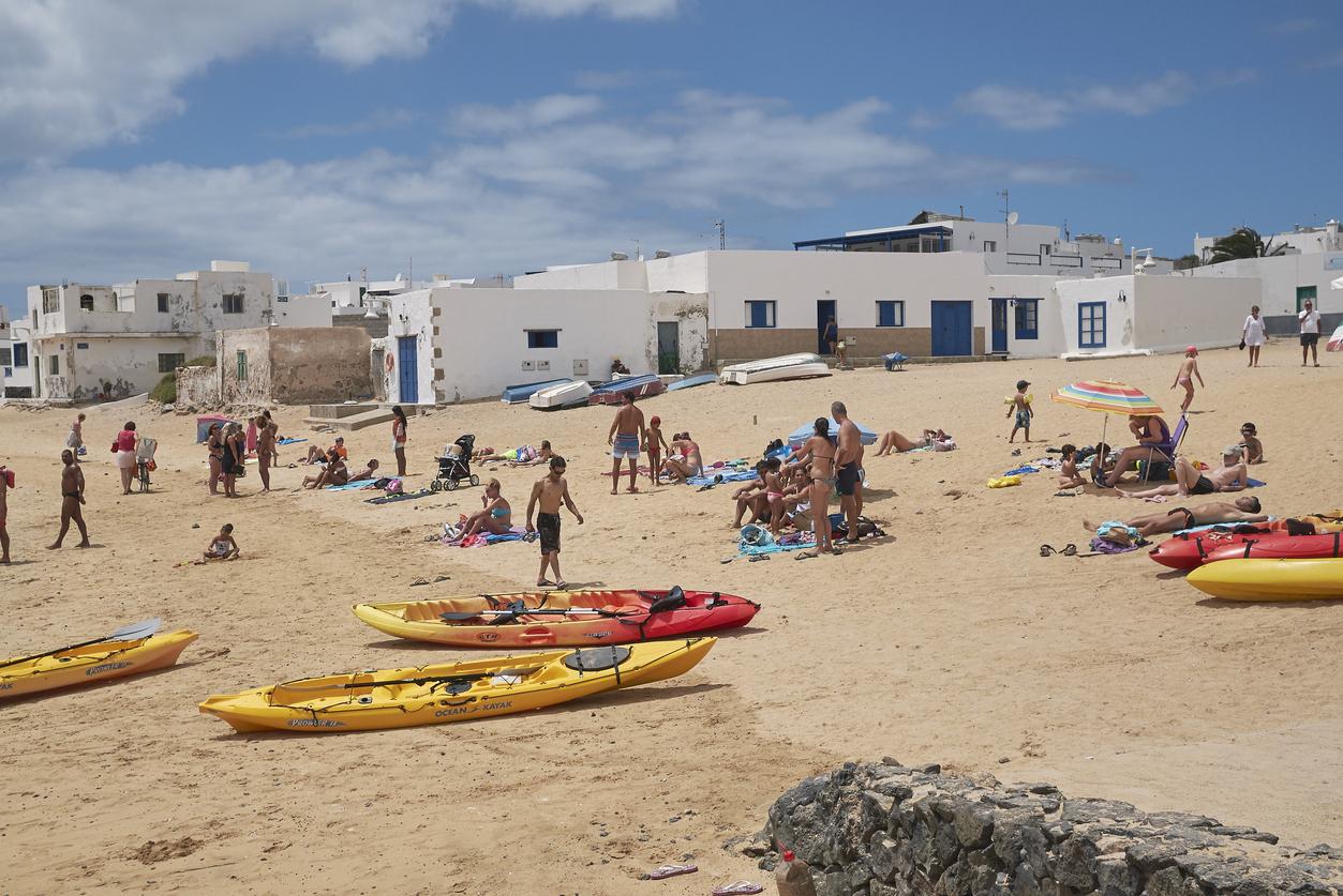 Caleta del Sebo, La Graciosa, Canary Islands. Shot in August 2015