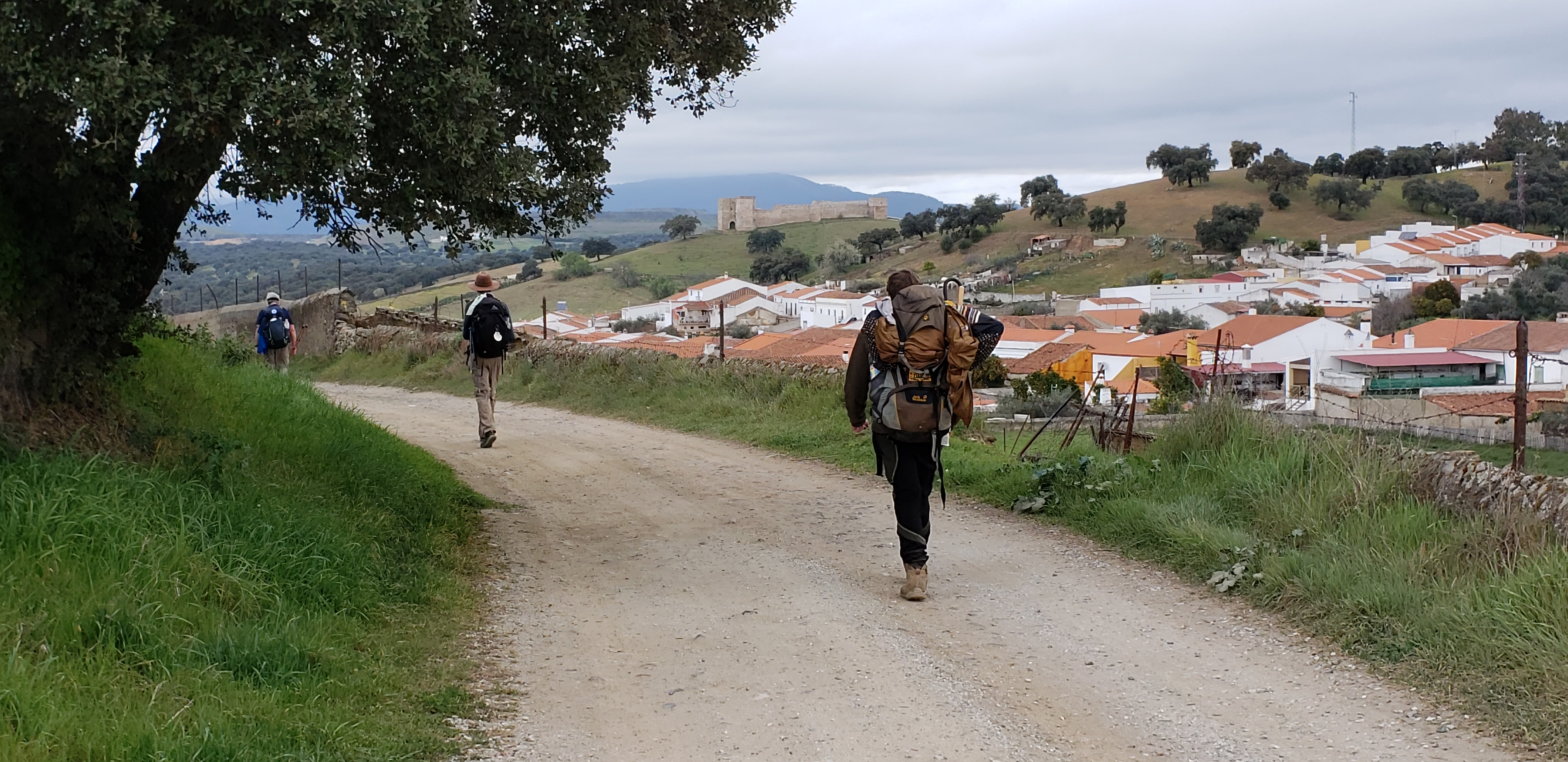 L2F Jul 20 pic Spain Way of St James pilgrim walking