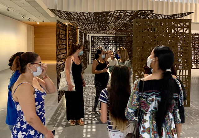 L2F Jul 20 pic Spain reopens Pompidou Málaga museum