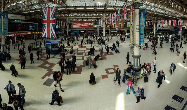 London, Victoria Station