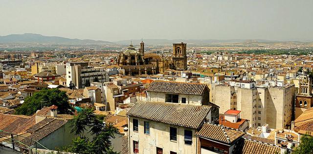 Vista de Granada (fotografía de Ronny Siegel)