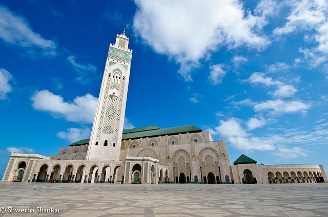 MMezquita Hassan II de Casablanca