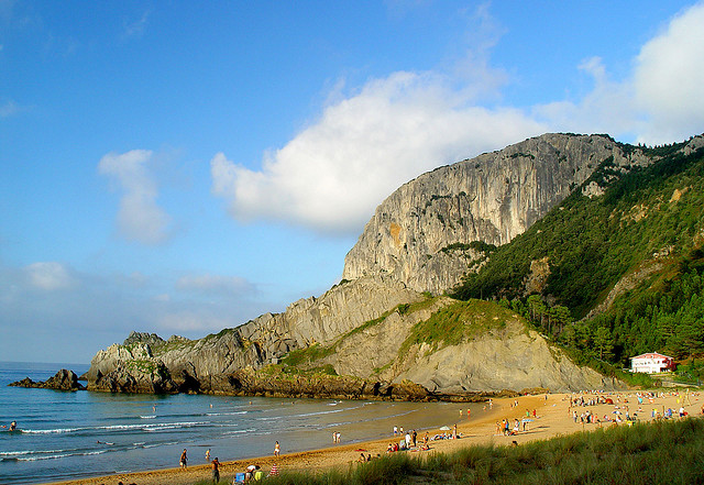 Playa de Laga (Bizcaia)