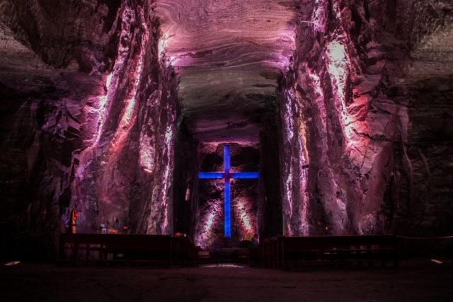 La catedral de sal de Zipaquirá. Fotografía de Mario Chavez