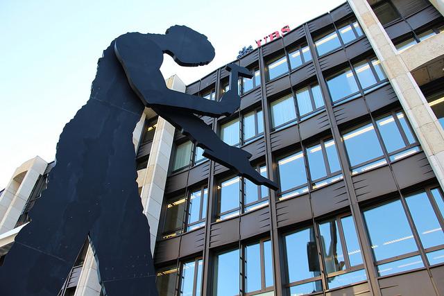 Basel - Hammering Man