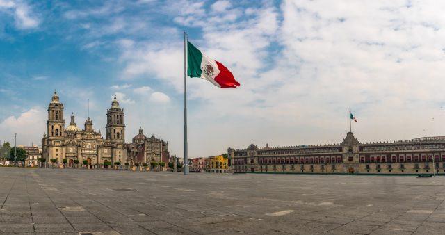 Plaza del Palacio Nacional de México