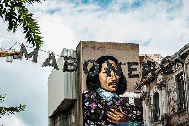 Maboneng precinct and street art