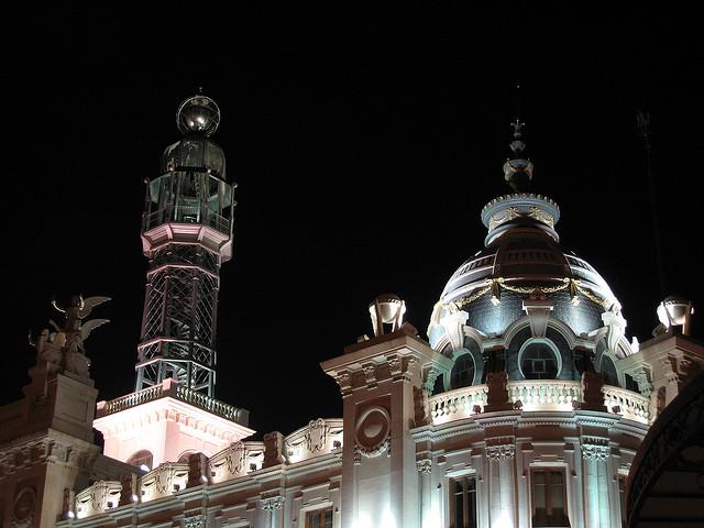 Edifici Correus (05) Cupula. Pass.Russafa. Valencia.