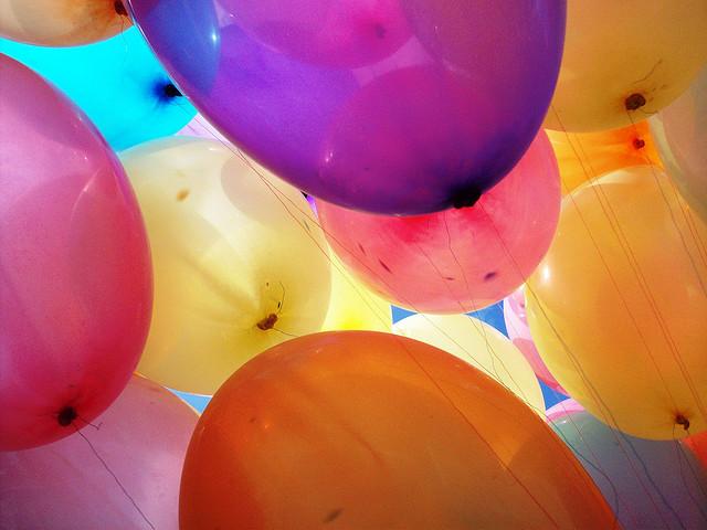 inside the ballons