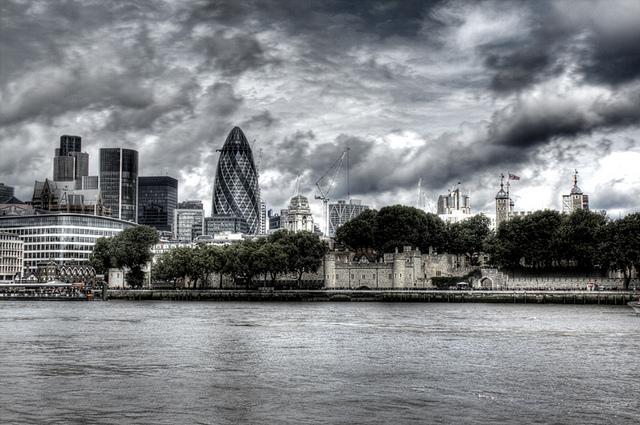 London sLondon skyline. Skyline de Londres.