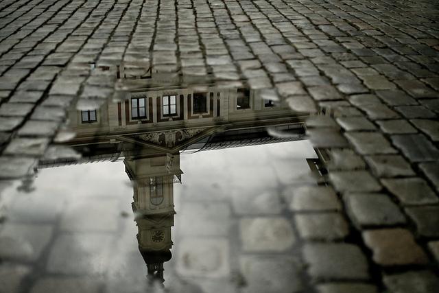 Riga reflections, Latvia