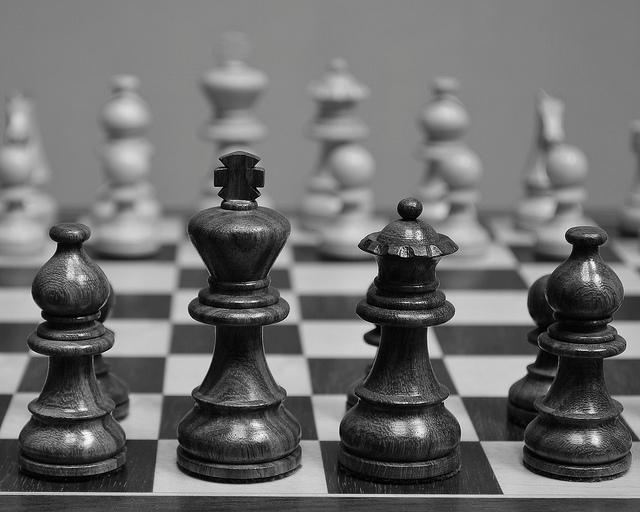 Chess Board BW