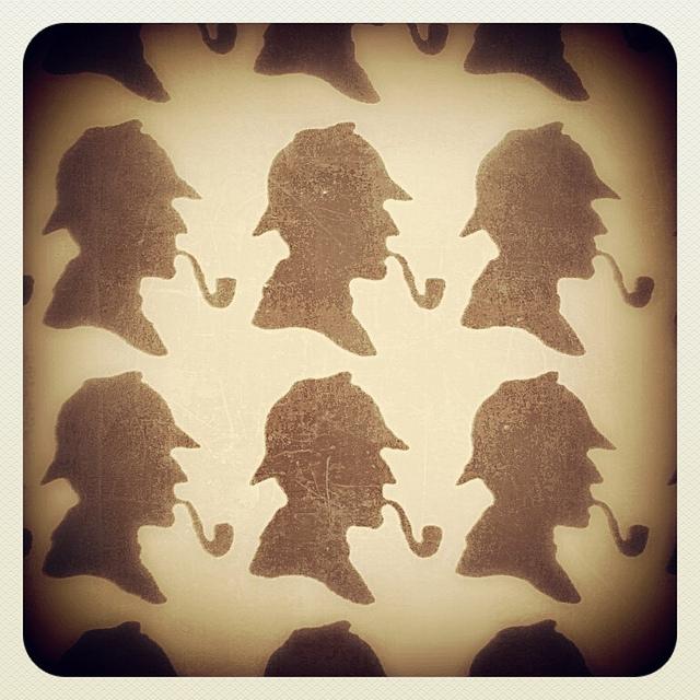 Sherlock Holmes, Baker St, London