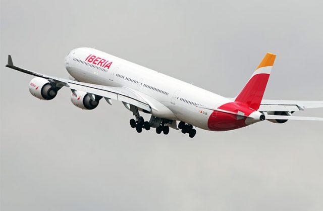 Alianza Iberia Airbus A340 600