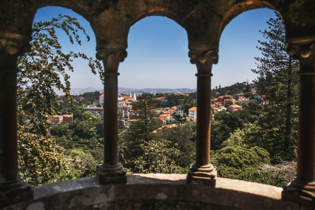 Arcada Quinta da Regaleira Portugal Tsezarina Shutterstock