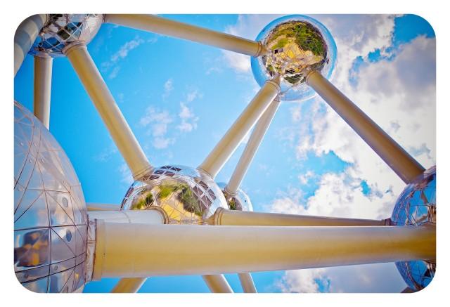 Atomium de Bruselas, en Bélgica