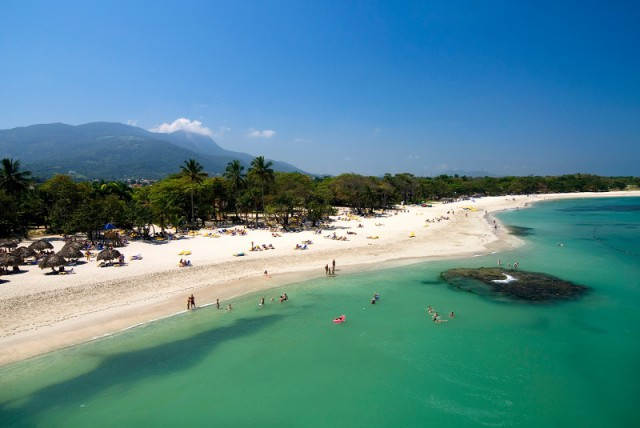 Beach in front of the Iberostar / Coral Marien Hotels, Puerto Plata.
