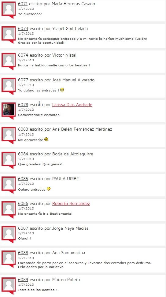 Beatlemania en Madrid ¡consigue tus entradas!  Me gusta volar - Mozilla Firefox
