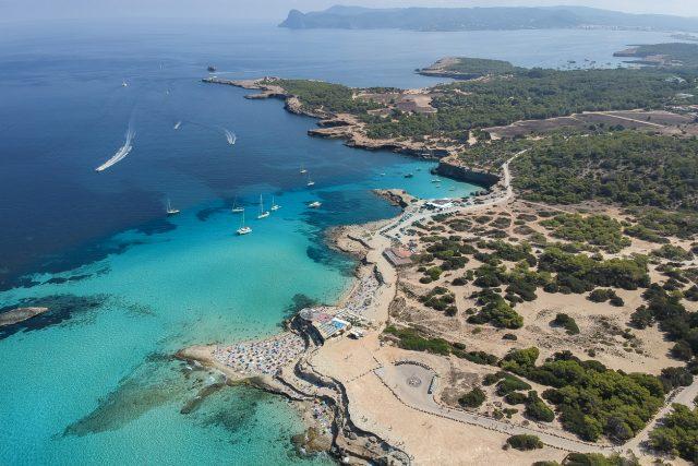 Cala Conta Comte Mejores calas Ibiza Baleares