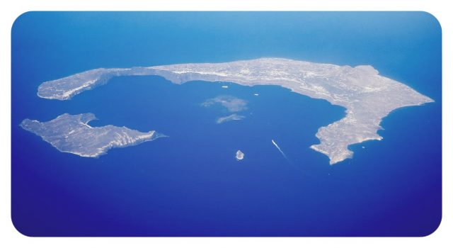 Volcán de Santorini