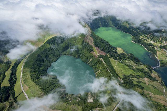 Sete Cidades, las Azores