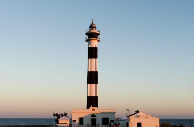 Faro Artrutx Menorca Islas Baleares España Europa Nora Zubia