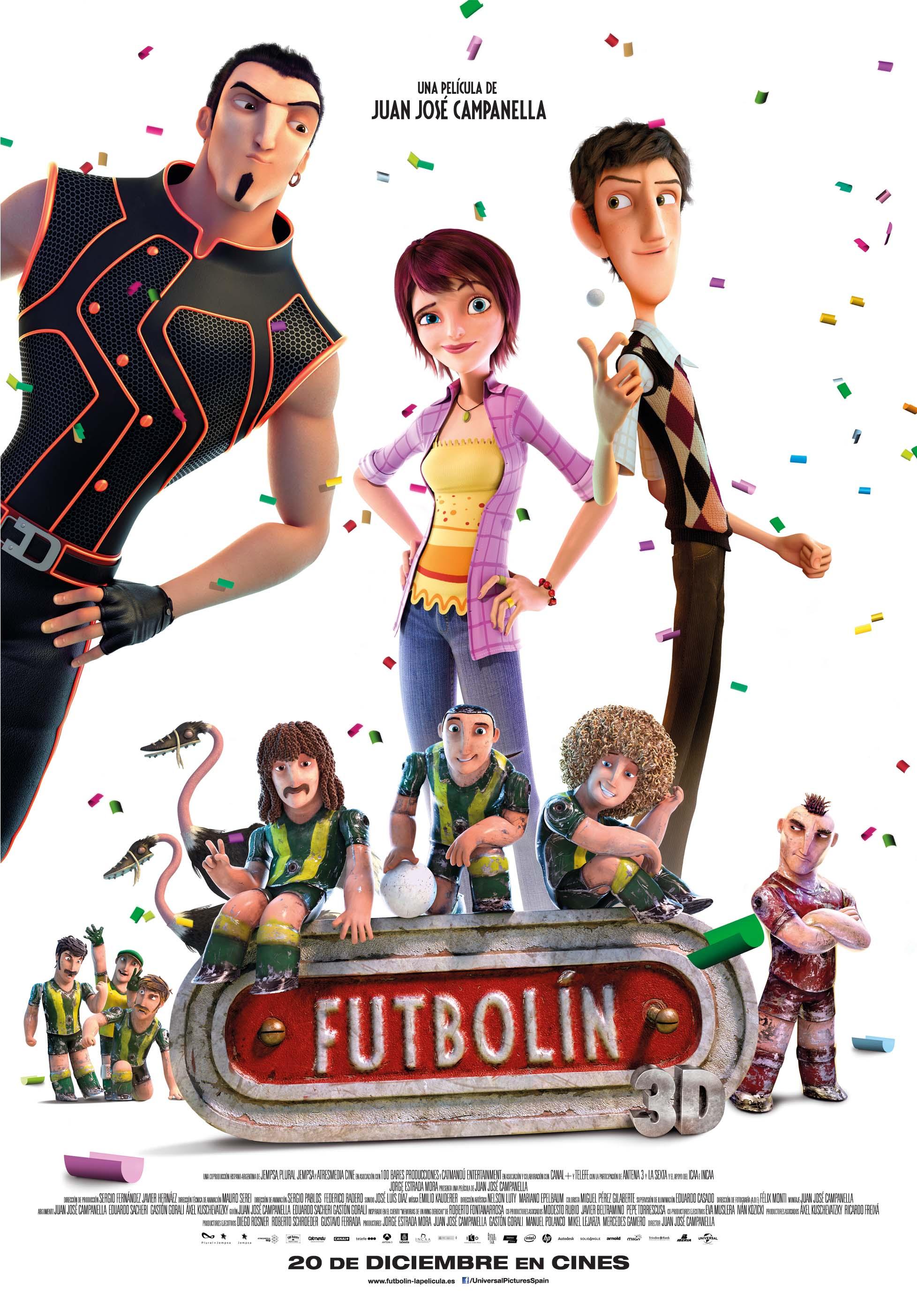 Cartel Futbolín